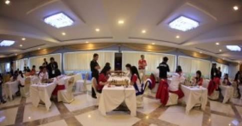 Hoa khoi ben ban co vua SEA Games