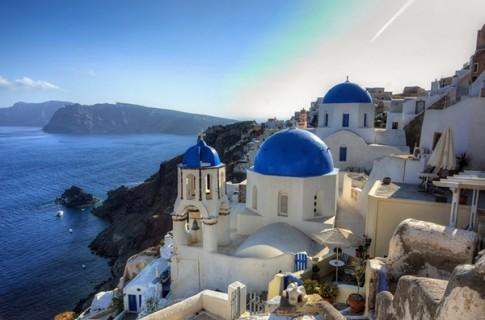 Hòn đảo thiên đường ở Hy Lạp Santorini