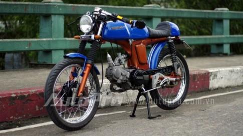 Honda 67 độ phong cách Cafe Racer ở Sài Gòn