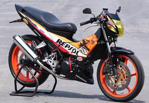 Honda Motor sắp trình làng mẫu côn tay cạnh tranh với Suzuki Raider 150