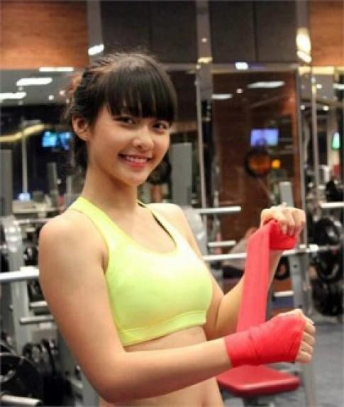 Hot girl quyen ru nhat lang boxing Viet Nam