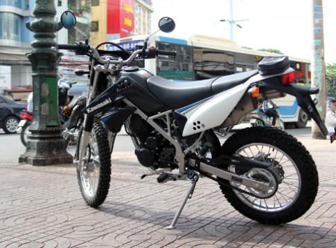 Kawasaki KLX 125 2013 đã xuất hiện tại Việt Nam