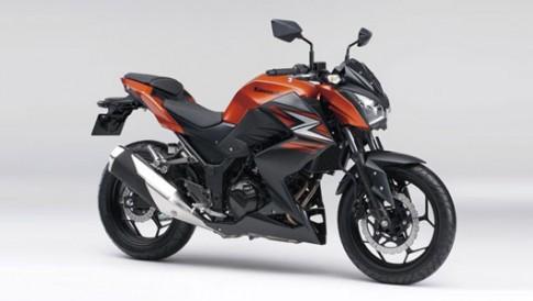 Kawasaki Z250 2014 thêm màu mới, giá 4.600 USD