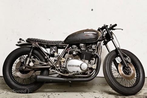 Kawasaki Z750 độ thành xe cũ