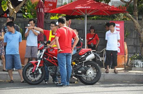 Lái thử Ducati Monster 796 ABS tại Vũng Tàu