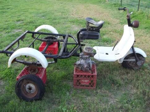 Lambretta Model 150FD - 3 bánh ngộ nghĩnh
