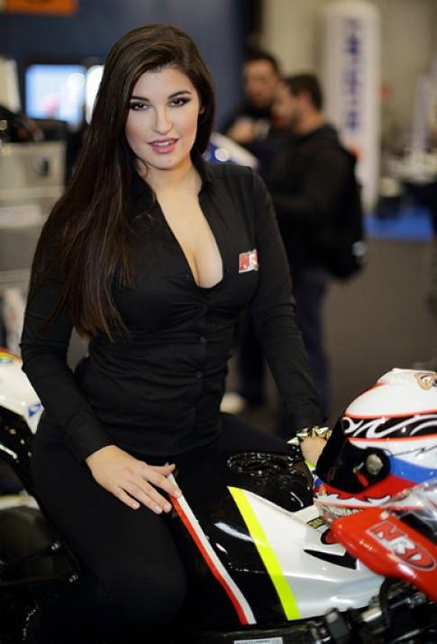 Môtô và người đẹp độ ở Motor Bike Expo 2014