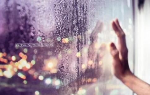 Mưa rơi ở thành phố lạ