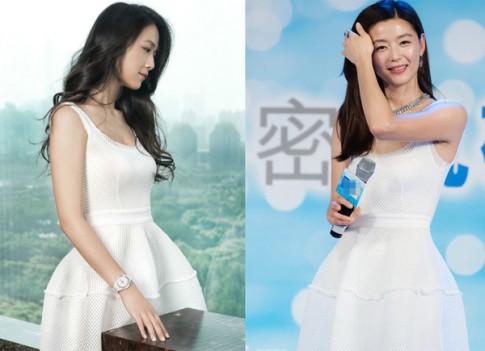 Mỹ nhân châu Á so vẻ duyên dáng khi 'mặc chung váy'