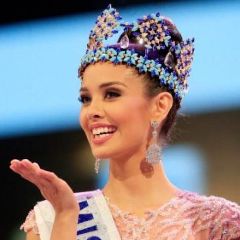 Ngam nhan sac Philippines doat vuong mien Hoa hau the gioi 2013