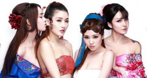 Người đẹp bán Nude trong cosplay Phan Kim Liên