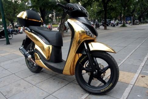 Những chiếc Honda SH độ cá tính ở Hà Nội.