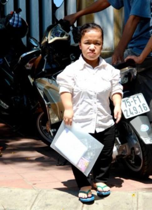Nữ sinh cao một mét ước mơ làm quản trị viên