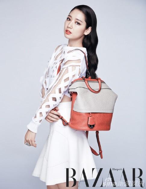 Park Shin Hye bất ngờ đẹp sang trọng và gợi cảm