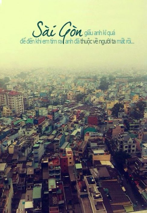 Sài Gòn - những tình yêu không bên nhau nhiều dù chung một thành phố...