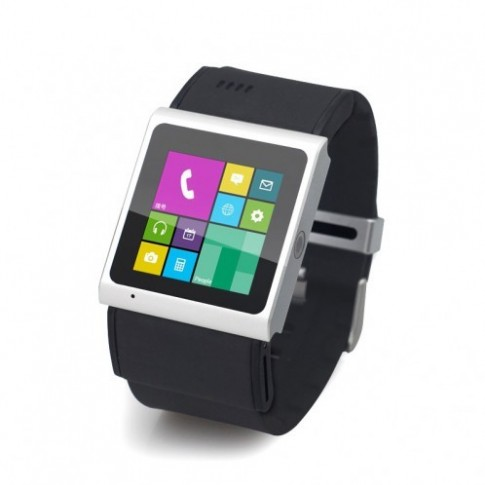 Smartwatch kiêm smartphone chạy Android 4.0 giao diện Windows Phone