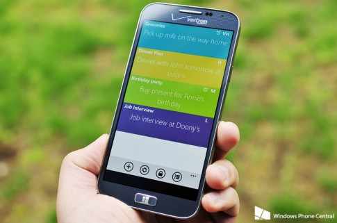 Sticky Notes HD ung dung ghi chu chat luong cao cho WP8 mien phi