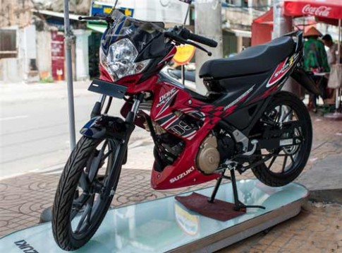 SUZUKI RAIDER 150 2013 sắp ra mắt tại Việt Nam...