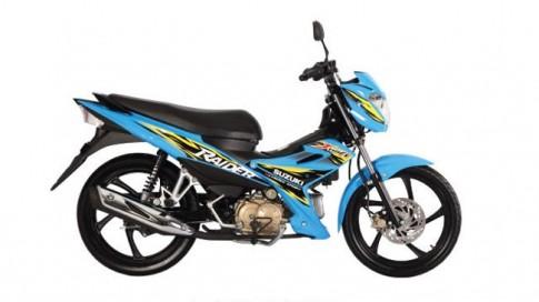 "Suzuki Raider J115Fi - ""Người"" Anh Em của Satria FU"
