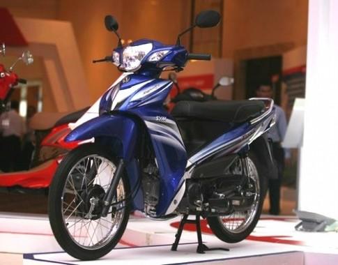 SYM sắp ra mắt xe máy không cần bằng lái tại Việt Nam