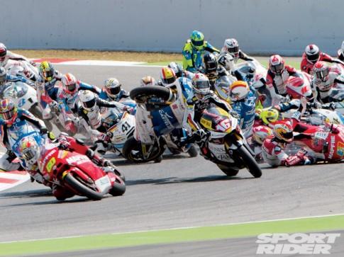 Tai nan tren cac duong dua Moto GP