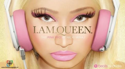 Tai nghe Beats Pro by Dre thiết kế theo Nicki Minaj