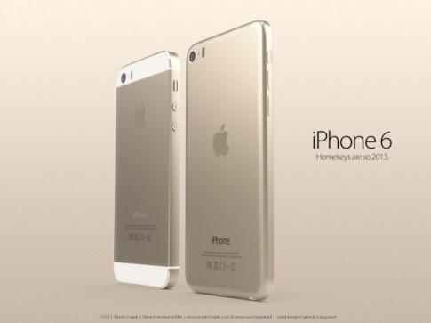 Thiết kế iPhone 6 không viền màn hình mang phong cách iPad mini ! đẹp tuyệt