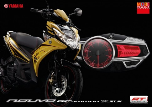 Thông tin và kỹ thuật sửa chữa xe Yamaha Nouvo SX 125cc (P1).