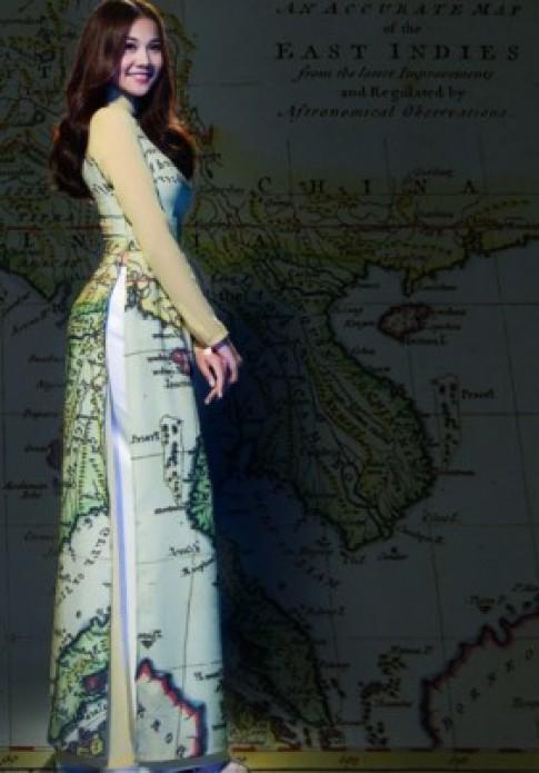 Thuận Việt đưa Hoàng Sa, Trường Sa lên áo dài