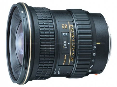 Tokina giới thiệu ống kính AT-X 11-16mm F2.8 đời II định dạng crop cho Sony