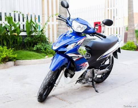 Trải nghiệm Suzuki Axelo 125cc