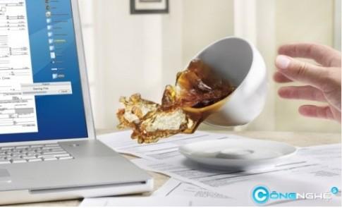 Việc nên tránh để laptop khỏi hư hỏng
