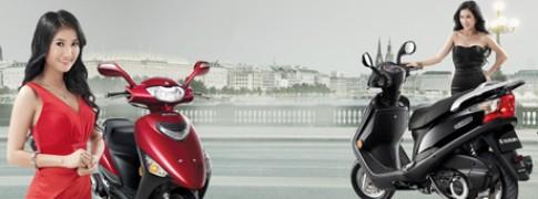 Viet Nam ra mat Suzuki Scooter UA 125T