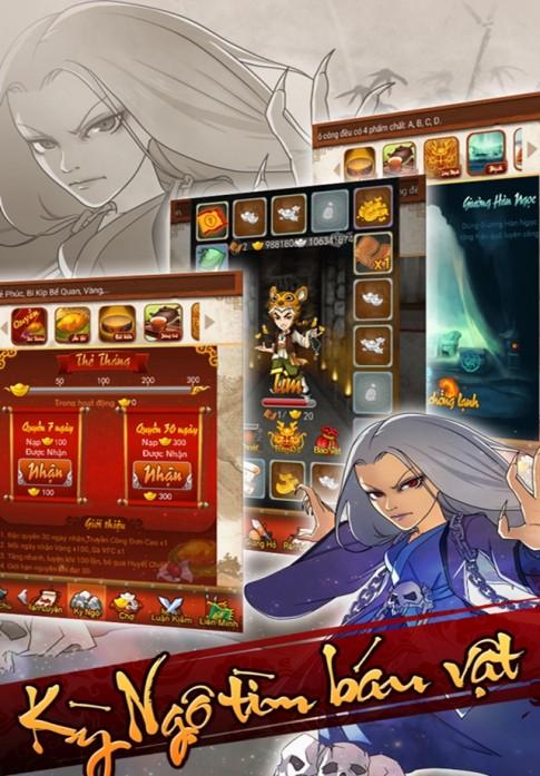 Võ Lâm Luận Kiếm - Chiến Thuật RPG Khủng