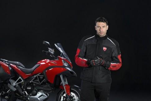 Với Ducati túi khí bảo vệ đâu phải chỉ dành cho xe hơi !!!
