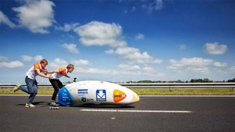 Xe đạp có vận tốc khủng như xe gắn máy.