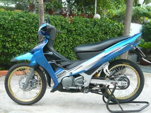 Ya Z 125cc đơn giản, ko chói lóa.