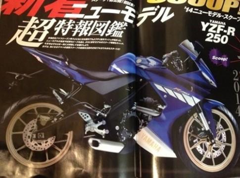 Yamaha chuẩn bị trình làng YZF-R250 mới.