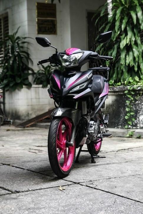 Yamaha Exciter độ màu đen - hồng cực cá tính