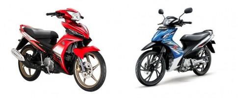 Yamaha Exciter so găng cùng Suzuki Axelo