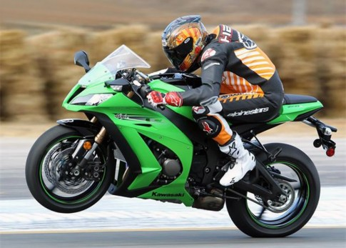 ZX10R 2011 ABS Green Project
