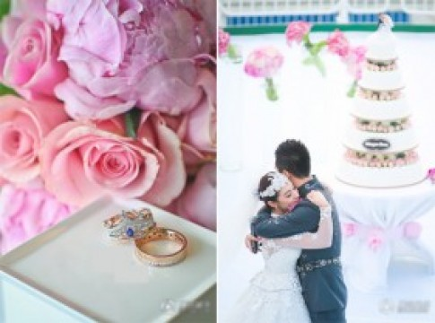 10 đám cưới xa hoa của sao Hoa ngữ 2013