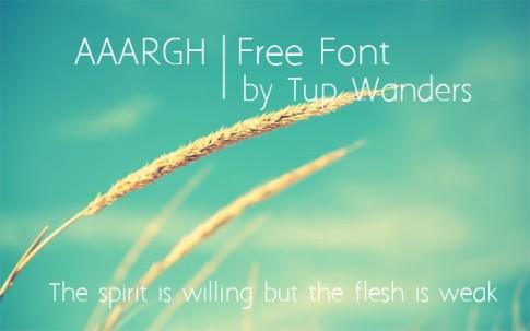 20 Font tuyệt đẹp cho designer
