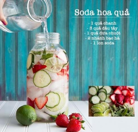 3 công thức đồ uống giải nhiệt cho những ngày hè oi bức