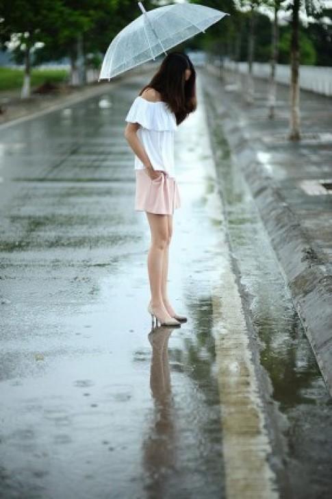 3 kiểu quần cho ngày mưa hè