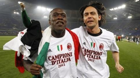 AC Milan sa thải Seedorf, chỉ định Inzaghi lên thay !