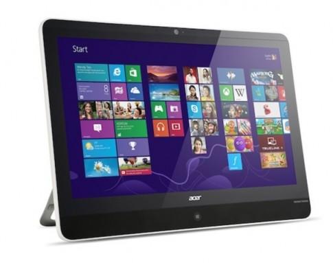 """Acer trình làng """"siêu"""" tablet Z3-600: Màn hình 21.5 inch, RAM 4GB, bộ nhớ trong 750GB"""
