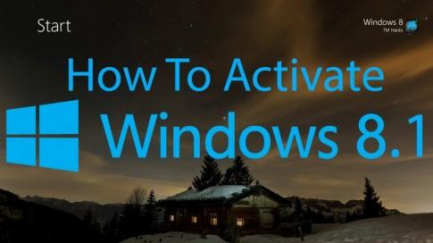 Active win 8.1 hướng dẫn chi tiết thành công với mọi phiên bản