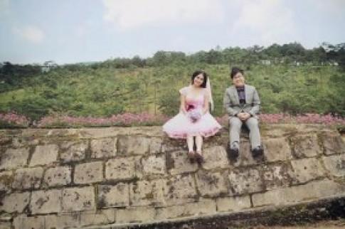 Ảnh cưới ngọt ngào của DV hài Gia Bảo
