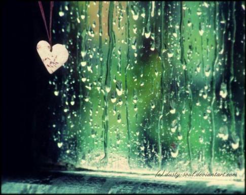 Anh sẽ đi mãi cùng cơn mưa....